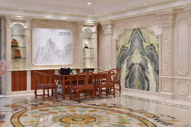 建隆达石材,专注 酒店 别墅 等中高端室内大理石装饰
