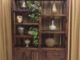 老船木展示柜商品多宝阁展示柜茶叶柜酒柜书柜办公家具