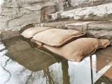 防汛膨脹麻袋可承受壓力150公斤的防汛吸水膨脹袋
