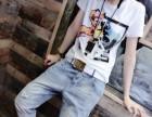工厂直销男女装运动T恤衫 河北省定州市含棉印花小衫尾货批发