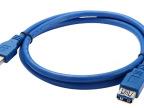 优势批发 USB3.0 数据线 A公头对A母头 高质量产品 0.6米