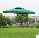 户外遮阳伞 防大雨伞扳手伞四方双顶伞庭院伞岗亭伞大太阳