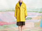 新款品牌女装加厚复古翻领呢子大衣女 长袖风衣大衣 羊毛呢大衣