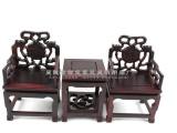 微型太师椅 木雕摆件 仿明清古典中式家具