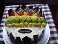 杭州创意蛋糕滨江区送货上门欧式蛋糕巧克力预定