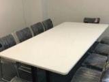 厂家直销现货办公桌 钢架桌 工位桌 老板桌 前台桌