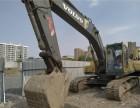 沃尔沃210二手挖掘机 质保一年可按揭分期 物流包送到家