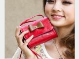 2014夏季新款迷你小包包单肩斜跨手拿包韩版潮蝴蝶结可爱女包特价
