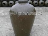 宜兴绿釉土陶酒坛 黄酒专用坛 散装酒容器  50斤装水容量