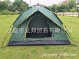 工厂直销3-4人双层全自动帐篷 户外野营