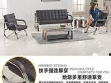 全新高档优质不锈钢真皮单人沙发椅超低价转让