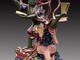 文昌帝君佛像 河南大型雕塑厂 魁星踢斗 树脂彩绘 魁星佛像