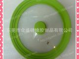 弧形包硅胶边玻璃盖/包硅胶锅盖33CM/钢化玻璃盖/煲玻璃盖/防