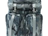 厂家直销 日本品牌真皮迷彩尼龙背包 真皮迷彩背包 尼龙双肩包