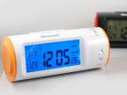 YJL创意8097C超维声控投影钟 感应时尚闹钟 贪睡静音带日历温度