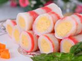 惠发热卖 蟹肉卷 速冻食品 新鲜食材制作 独特美味仿生蟹王棒