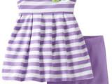 夏款女童单肩吊带条纹上衣裤子幼儿套装0.69kg