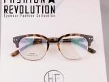 韩国时尚起义TR90 热卖款复古大框眼镜