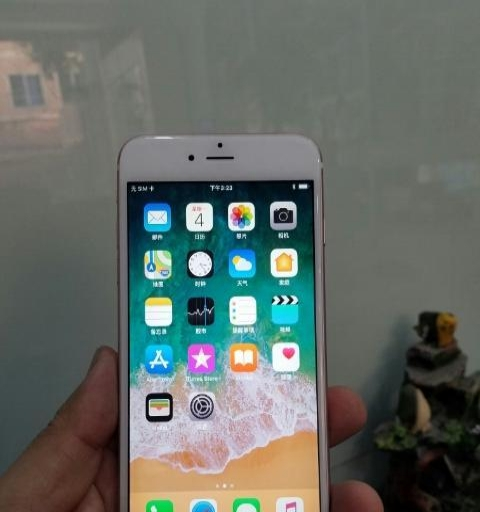 8成新玫瑰金行货苹果6sp-64g手机