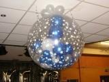 洛阳西工双十二气球装饰 涧西商场双12气球造型布置