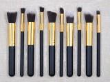 10支化妆刷套装美妆工具深圳厂家批发定做