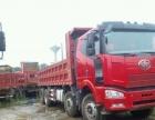 解放J6前四后八工程自卸车出售。维柴345-375动力、法士