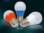 12V低压3W球泡灯 塑料球泡灯 高亮LED灯泡 导热塑胶材料 捷本照明