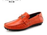 2014新款时尚男士休闲豆豆鞋韩版潮流驾车鞋懒人鞋子真皮男鞋包邮