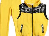 亲子装夹套装  韩版时尚新款  春季加厚亲子装两件套装