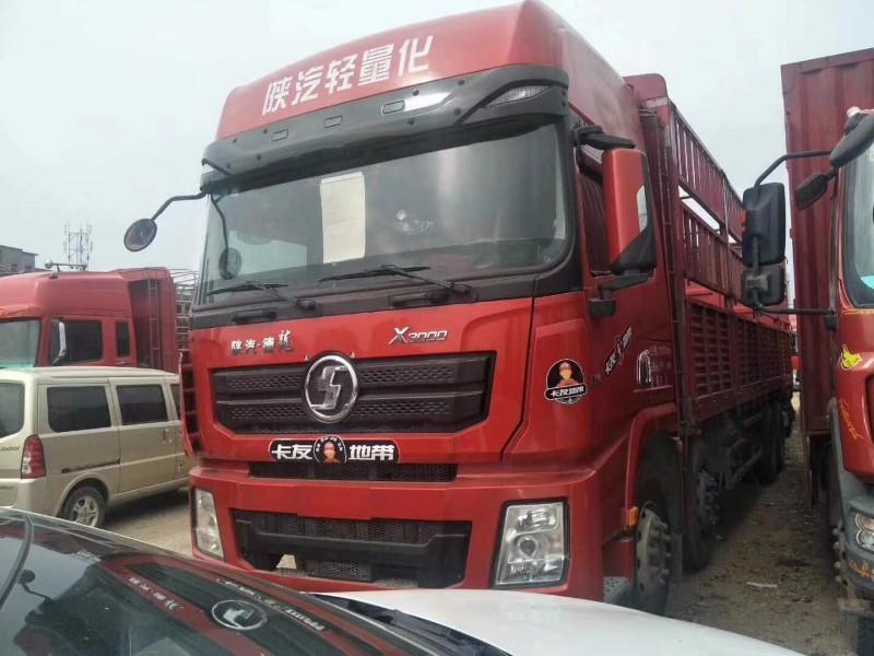 陕汽重卡德龙X3000载货车原车原版实图手续齐全