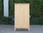 全实木小书柜白蜡木开放美式书橱置物柜陈列书架书房展示柜