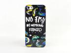 巴黎KENZO 高田贤三 海洋鱼苹果5保护壳 iPhone5S活跃鱼手机套