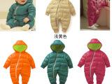 2014秋冬新款品牌外贸母婴用品 婴儿哈衣加厚宝宝连身衣 连体衣