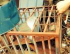 以前养边牧用的,笼子,材料都是厚的,带四个轮子,