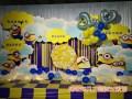满月宴装饰 宝宝宴策划百日宴气球布置各类气球装饰布置