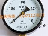 Y--100上海仪川 弹簧管压力表