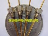 供应M3螺纹式陶瓷穿心电容,152pF低通滤波器