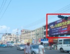 苍南县客运东站中心对面房屋墙面大牌