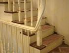 上海楼梯生产厂家 别墅楼梯实木楼梯定制 家庭室内整木家装工厂