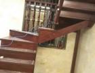武汉福森楼梯专业定制实木楼梯扶手整梯立柱护栏