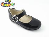 LIKEBABY童鞋品牌 儿童单鞋女童公主鞋韩版真皮学生皮鞋黑色