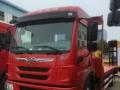 河池现货15吨挖机平板车,江淮格尔发国五平板车特价9万 挖机