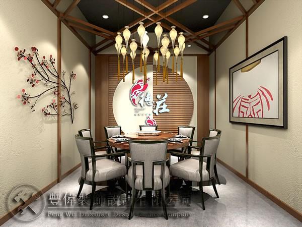 郑州酒店装修设计 饭店装饰设计 餐饮业装修装饰设计施工