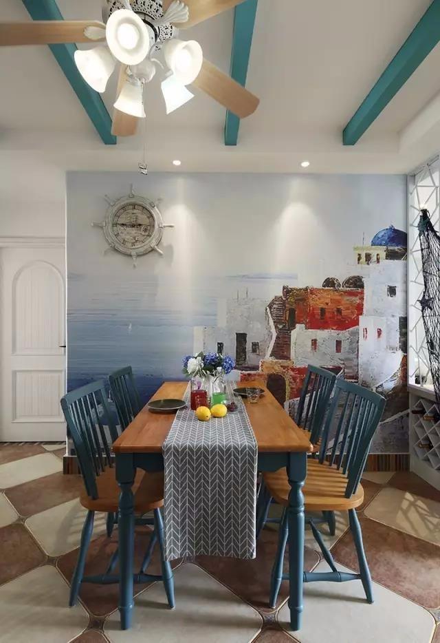 天水90 地中海风格小窝,加勒比海盗独特的情怀!
