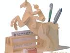 马术笔筒/支付宝交易/手工自装DIY益智玩具/3D仿真diy模型玩具