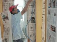 福田家庭装修水电改造,隔墙吊顶墙面粉刷贴墙纸人工费多少钱
