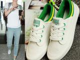 明星王菲同款低帮帆布鞋白色学生休闲小白鞋