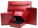 厂家直销大红网格纹 特种纸充皮纸 用于高档珠宝盒手表盒黄金盒