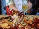 大铁锹手抓海鲜餐厅加盟费多少钱 徒手抓海鲜加盟店