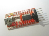 USB转TTL 支持3.3V 5V FT232RL模块Ardui
